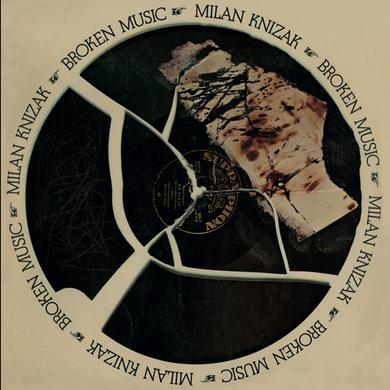 Milan Knizak BROKEN MUSIC Vinyl Record