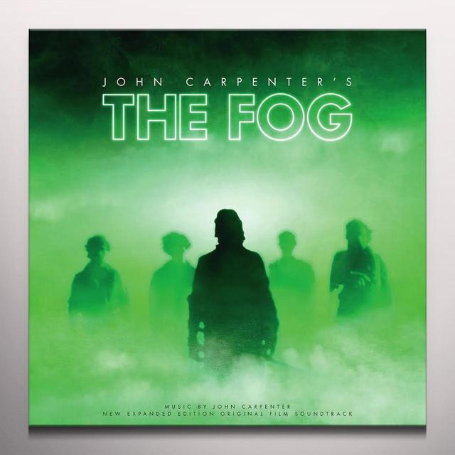 John Carpenter FOG / O.S.T. Vinyl Record - Gatefold Sleeve, Green Vinyl, White Vinyl