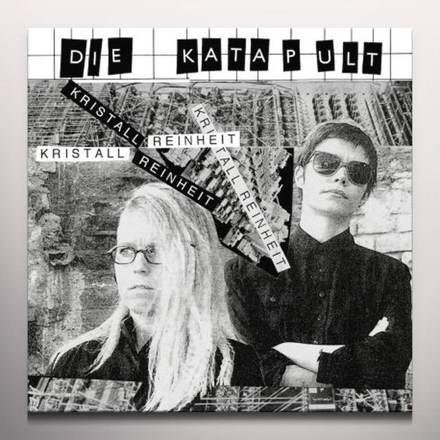 DIE KATAPULT KRISTALL REINHEIT Vinyl Record - 10 Inch Single, Limited Edition, White Vinyl