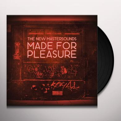 The New Mastersounds MADE FOR PLEASURE Vinyl Record