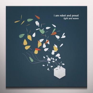 I Am Robot & Proud LIGHT & WAVES (BONUS TRACK) Vinyl Record - White Vinyl, Digital Download Included
