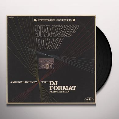 Dj Format SPACESHIP EARTH / TERROR Vinyl Record - 10 Inch Single