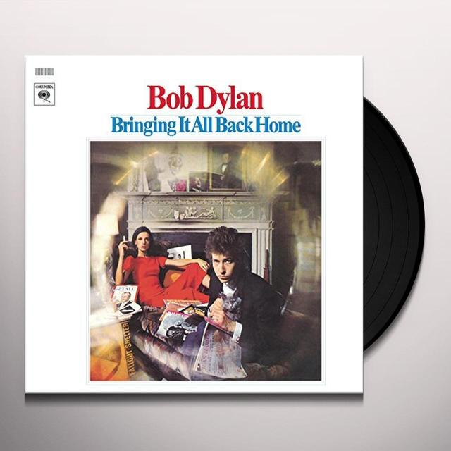 Bob Dylan BRINGING IT ALL BACK HOME Vinyl Record - Portugal Import