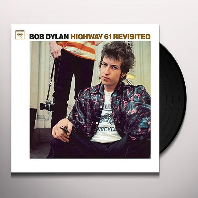 Bob Dylan HIGHWAY 61 REVISITED Vinyl Record - Portugal Import