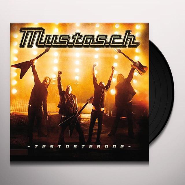 Mustasch TESTOSTERONE Vinyl Record - Portugal Import
