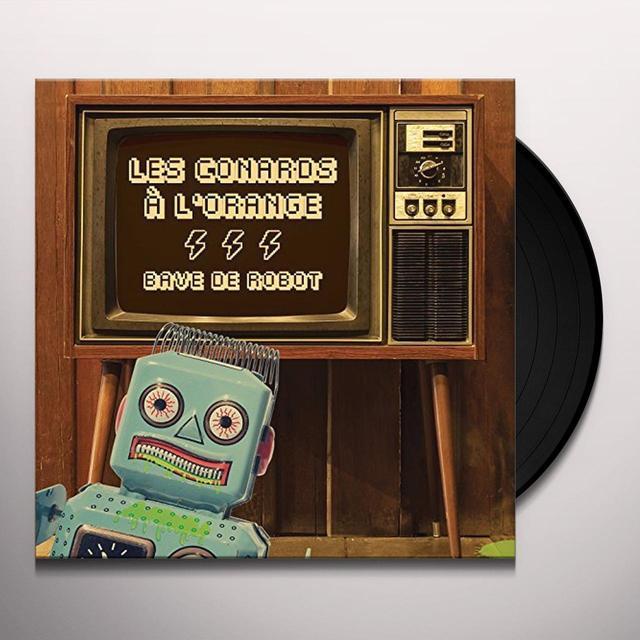 LES CONARDS A L'ORAN BAVE DE ROBOT Vinyl Record - Canada Import