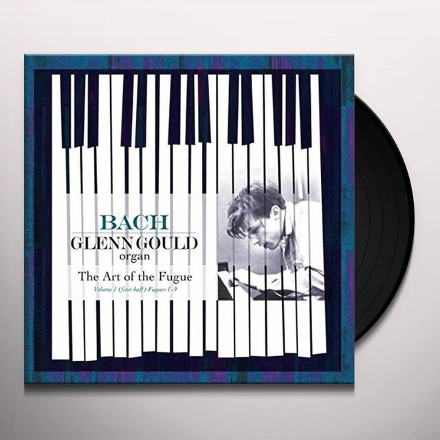 Glenn Gould ART OF THE FUGUE BWV 1080 Vinyl Record