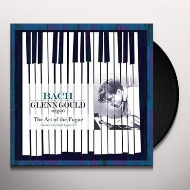 Glenn Gould ART OF THE FUGUE BWV 1080 Vinyl Record - Holland Import