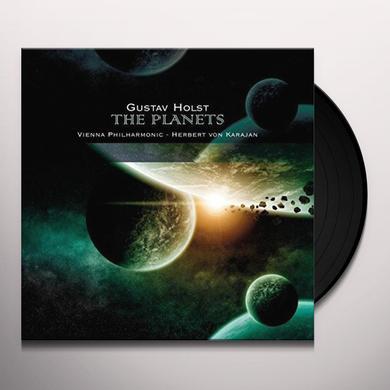 Herbert Von Karajan / Vienna Philharmonic Orch HOLST: PLANETS / SUITE FOR ORCH & FEMALE CHORUS Vinyl Record