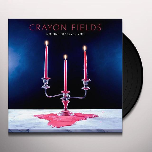 Crayon Fields NO ONE DESERVES YOU Vinyl Record - UK Release