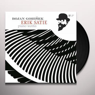 Bojan Gorisek ERIK SATIE - PIANO WORKS Vinyl Record