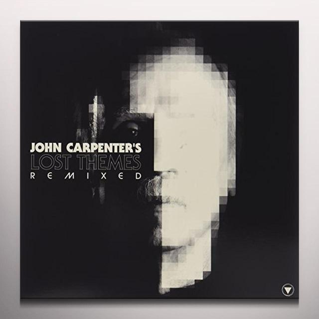 John Carpenter LOST THEMED REMIXED Vinyl Record - Colored Vinyl, UK Import
