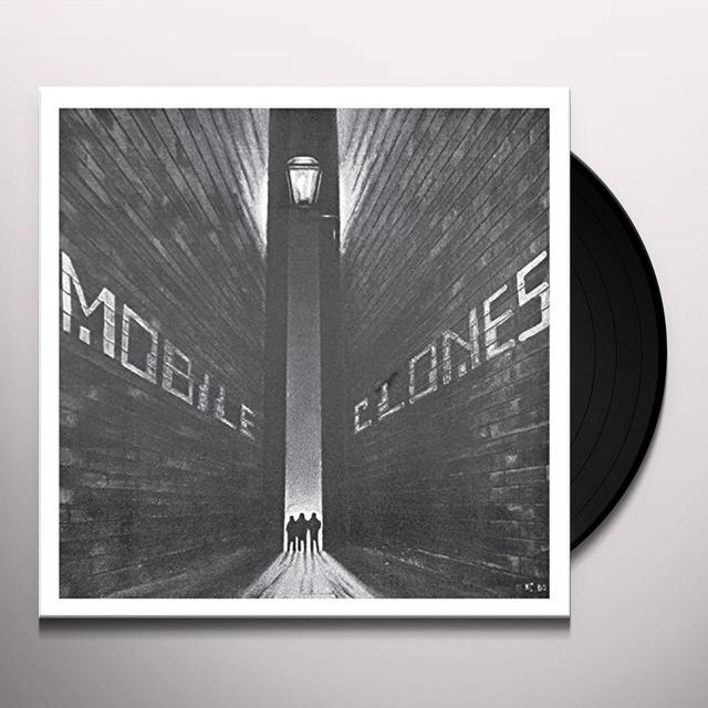 MOBILE CLONES ABRASIVE AIR Vinyl Record - 10 Inch Single