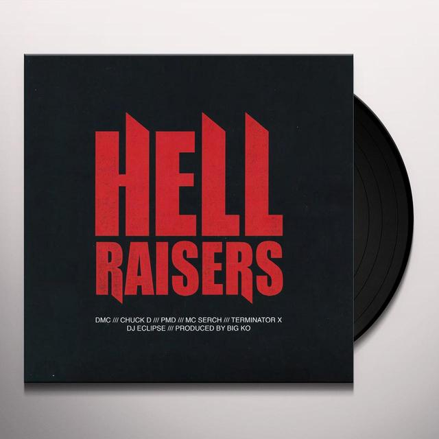 DMC HELL RAISERS / NONE HIGHER (PRODUCED BY BIG K.O.) Vinyl Record