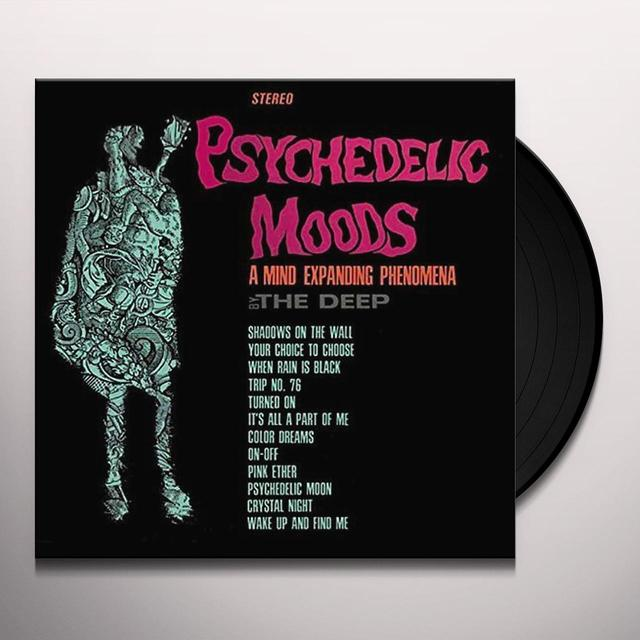 PSYCHEDELIC MOODS OF THE DEEP Vinyl Record - Gatefold Sleeve, Remastered