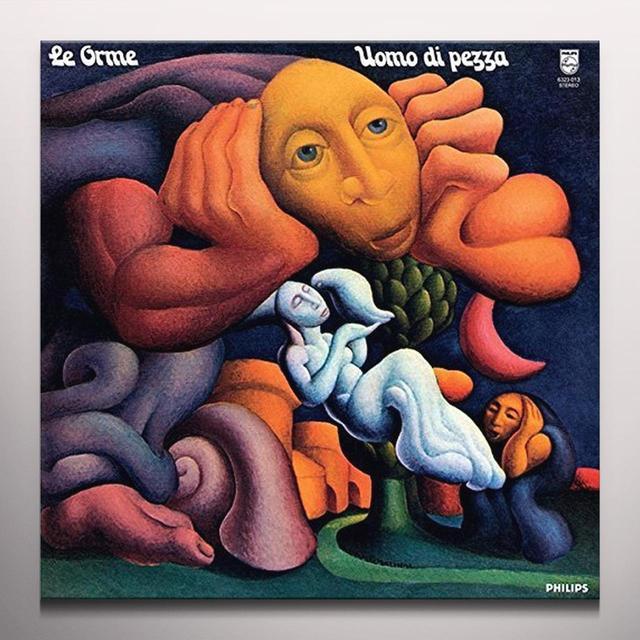 Le Orme UOMO DI PEZZA Vinyl Record - Blue Vinyl, 180 Gram Pressing, Remastered