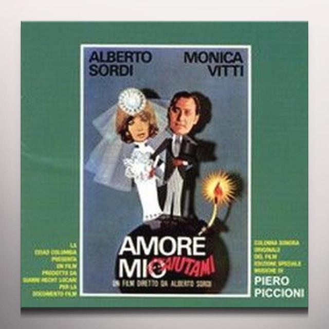 Piero Piccioni AMORE MIO AIUTAMI / O.S.T. Vinyl Record - Colored Vinyl, 180 Gram Pressing