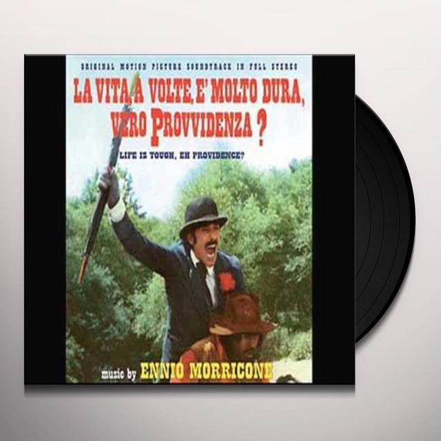Ennio Morricone VITA A VOLTE E MOLTO DURA VERO PROVVIDENZA / O.S.T Vinyl Record