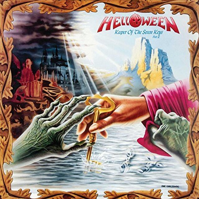 Helloween KEEPER OF THE SEVEN KEYS PT 2 Vinyl Record