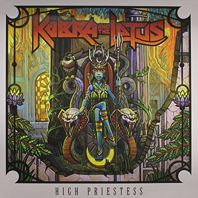 Kobra And The Lotus HIGH PRIESTESS Vinyl Record