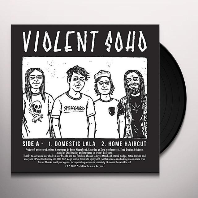 VIOLENT SOHO / SPRAYNARD SPLIT Vinyl Record