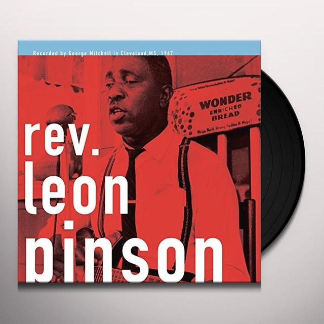 Rev Leon Pinson GEORGE MITCHELL COLLECTION Vinyl Record