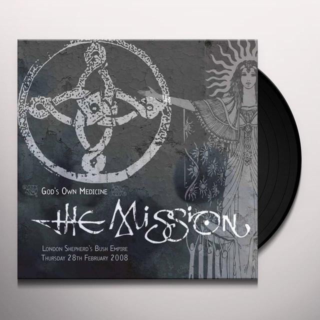 Mission GODS OWN MEDICINE Vinyl Record