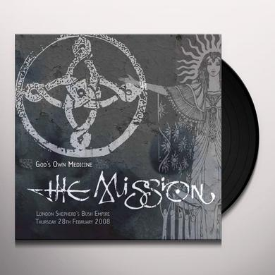 Mission GODS OWN MEDICINE Vinyl Record - Gatefold Sleeve