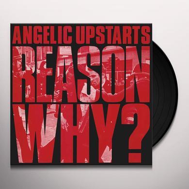Angelic Upstarts REASON WHY Vinyl Record - Gatefold Sleeve