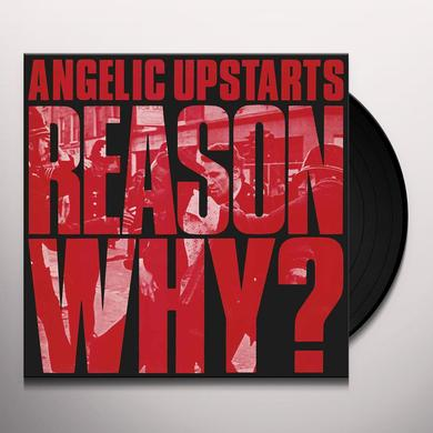 Angelic Upstarts REASON WHY Vinyl Record - Gatefold Sleeve