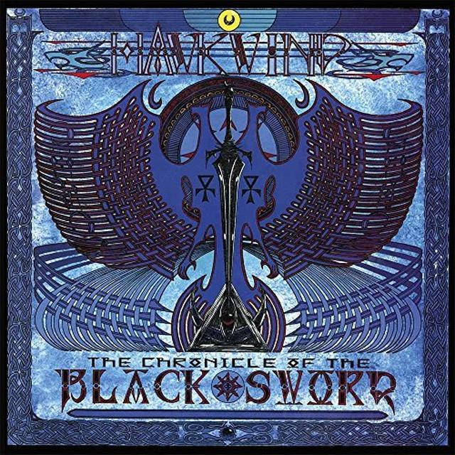 Hawkwind CHRONICLE OF THE BLACK SWORD Vinyl Record - Gatefold Sleeve