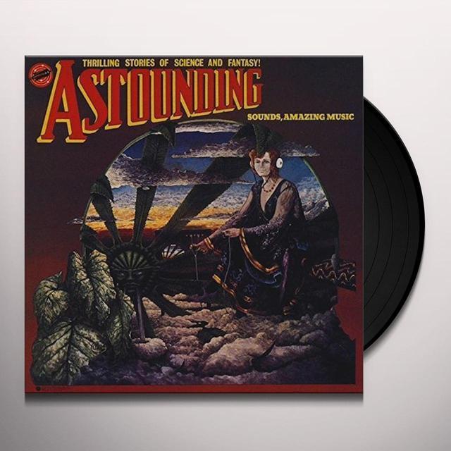 Hawkwind ASTOUNDING SOUNDS AMAZING MUSIC Vinyl Record - Gatefold Sleeve
