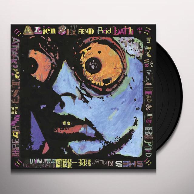 Alien Sex Fiend ACID BATH Vinyl Record - Gatefold Sleeve
