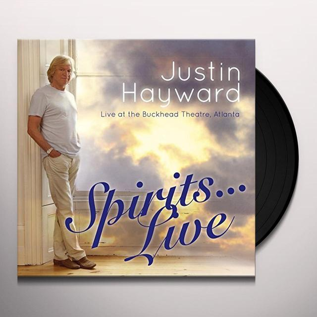 Justin Hayward SPIRITS LIVE Vinyl Record - Gatefold Sleeve