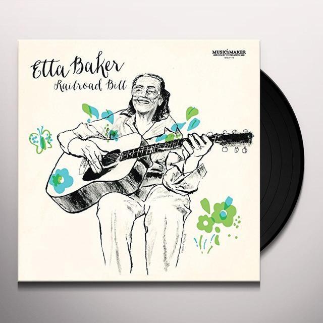 Etta Baker RAILROAD BILL Vinyl Record