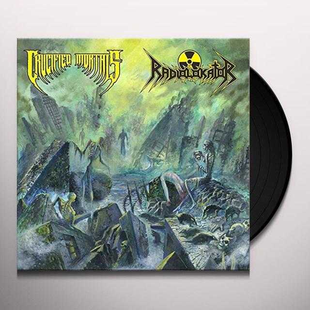 CRUCIFIED MORTALS / RADIOLOKATOR Vinyl Record