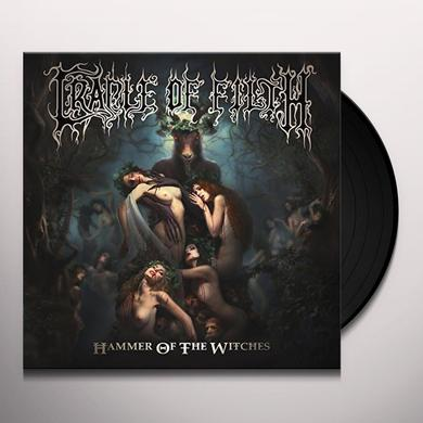 Cradle Of Filth HAMMER OF THE WITCHES Vinyl Record