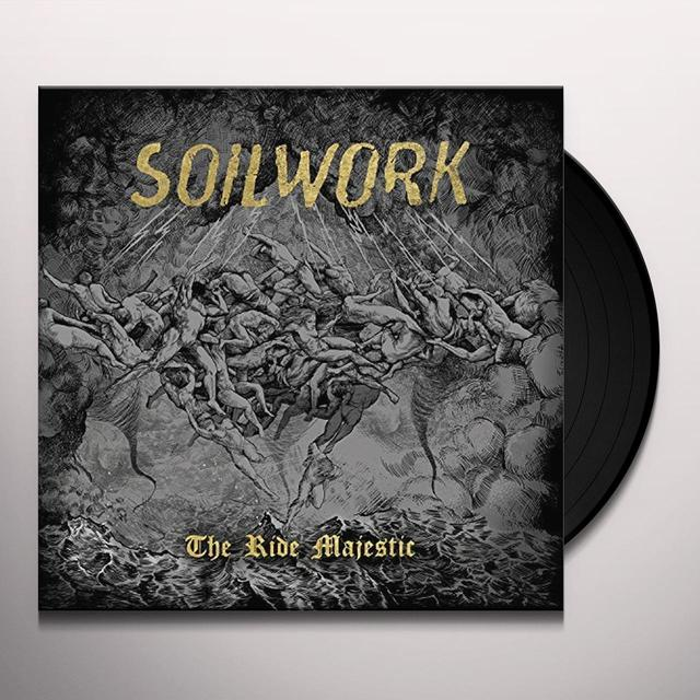 Soilwork RIDE MAJESTIC Vinyl Record - Gatefold Sleeve