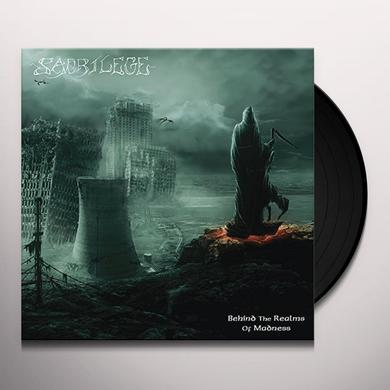 Sacrilege BEHIND THE REALMS OF MADNESS Vinyl Record - Reissue
