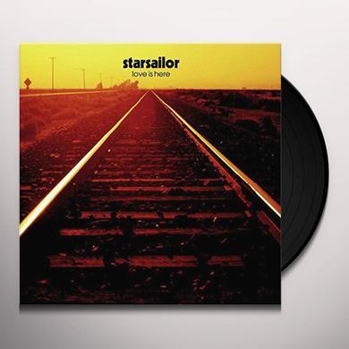Starsailor LOVE IS HERE Vinyl Record - 180 Gram Pressing