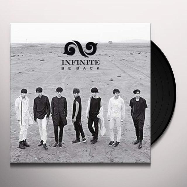 Infinite VOL.2 REPACKAGE (BE BACK) Vinyl Record - Asia Import