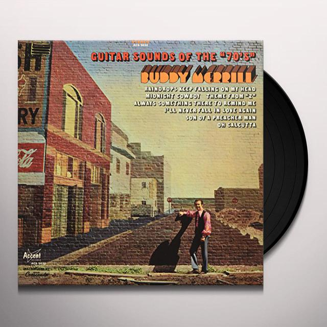 Buddy Merrill GUITAR SOUNDS OF THE 70'S Vinyl Record