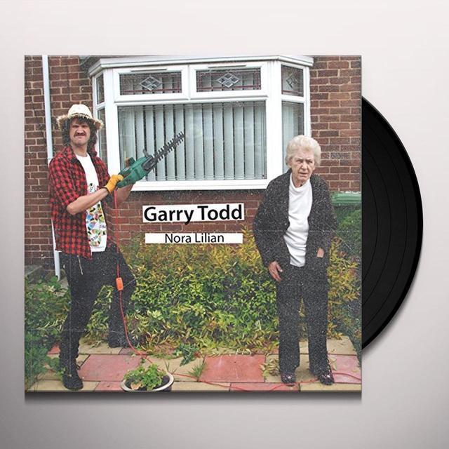 Garry Todd NORA LILIAN Vinyl Record - w/CD