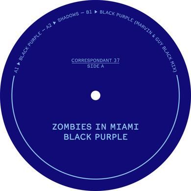 Zombies In Miami BLACK PURPLE Vinyl Record