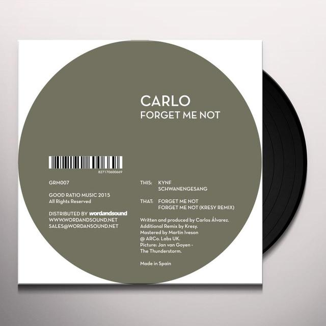 Carlo FORGET ME NOT Vinyl Record