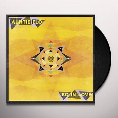 Auntie Flo SO IN LOVE Vinyl Record - 10 Inch Single