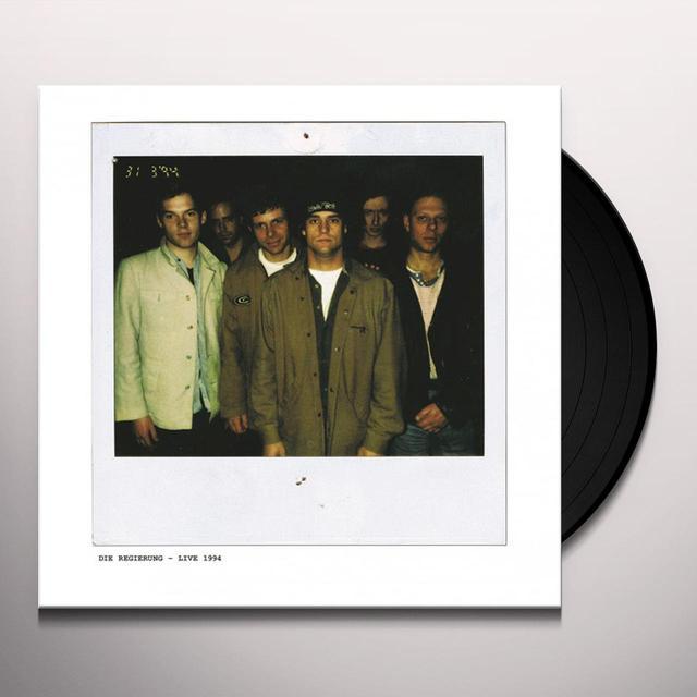 DIE REGIERUNG LIVE 1994 Vinyl Record