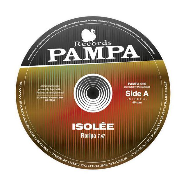 Isolée FLORIPA Vinyl Record