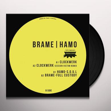 Brame & Hamo CLOCKWERK (EP) Vinyl Record - Remastered
