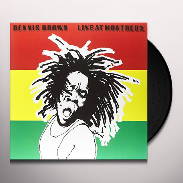Dennis Brown LIVE AT MONTREUX Vinyl Record